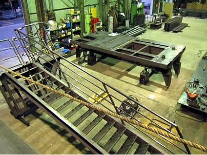ダム用操作橋、階段等