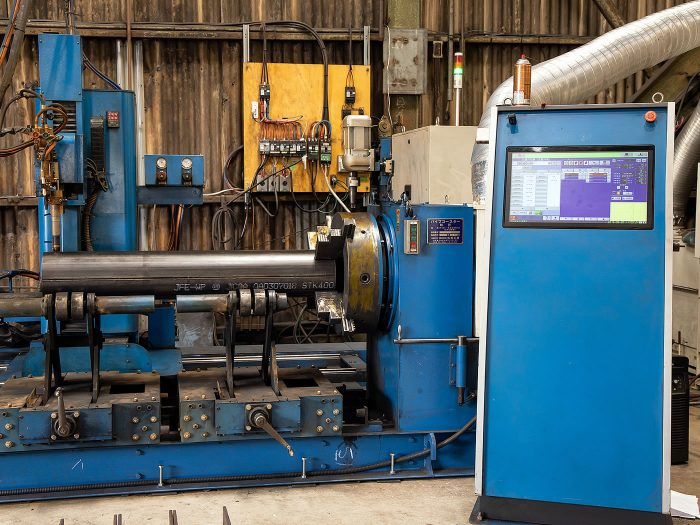 CNCパイプ自動切断機